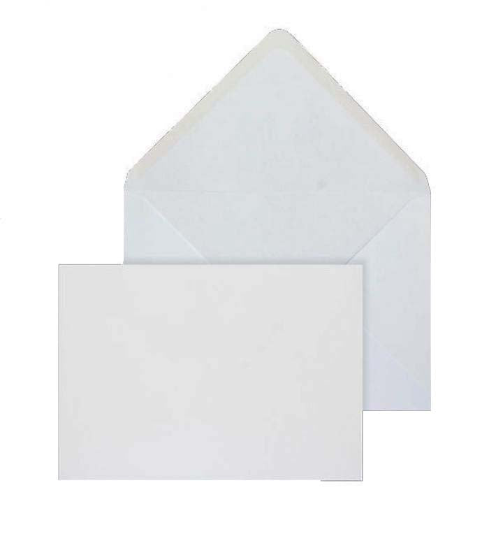 121 x 184mm  Brocken Plus White Gummed Diamond flap 6226