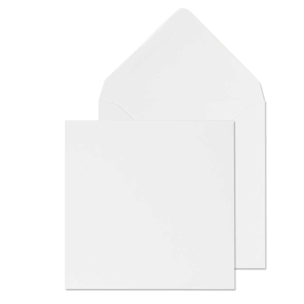 111 x 111mm  Brocken White Gummed Diamond flap 6414
