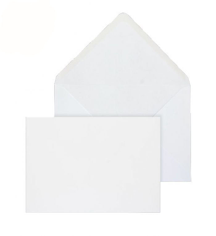 127 x 190mm  Brocken White Gummed Diamond flap 6431