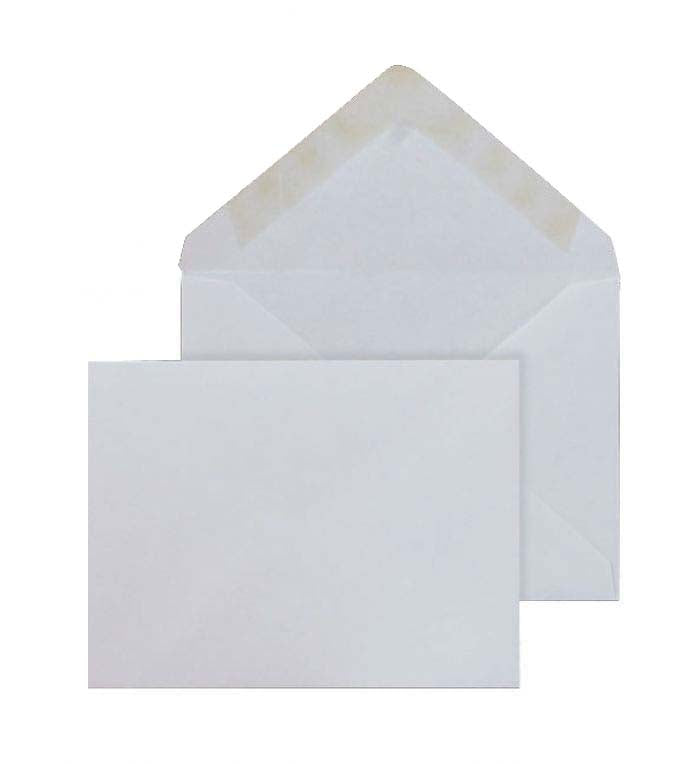 89 x 127mm  Brocken White Gummed Diamond flap 6803