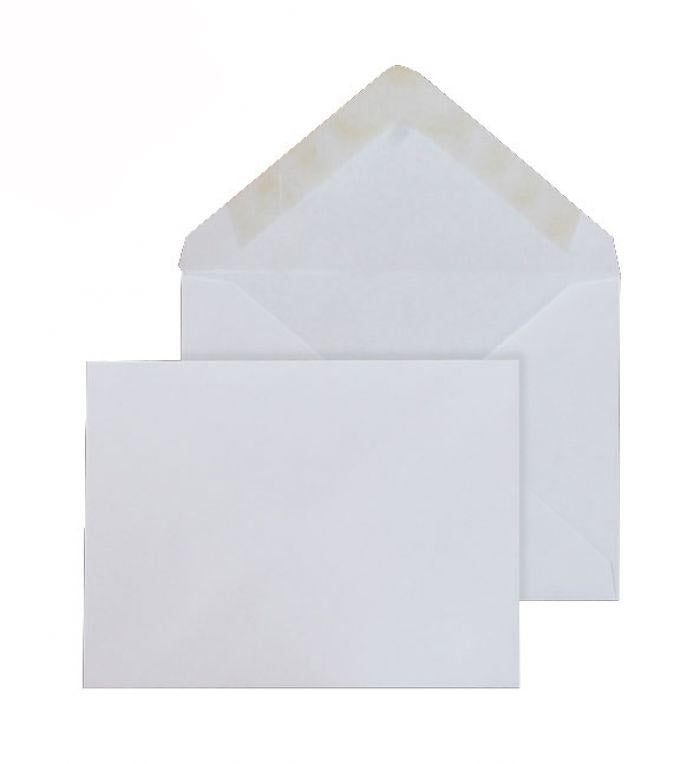 108 x 152mm  Brocken White Gummed Diamond flap 6812