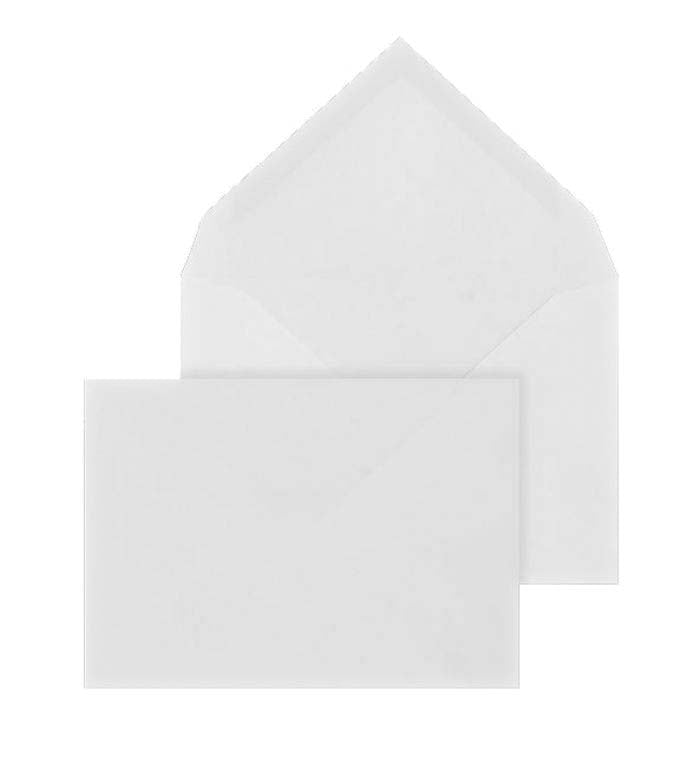 117 x 167mm  Brocken White Gummed Diamond flap 6821
