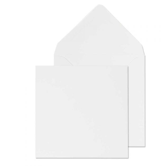 113 x 113mm  Brocken White Gummed Diamond flap 6823