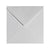 125 x 125mm  Brocken White Gummed Diamond flap 6829