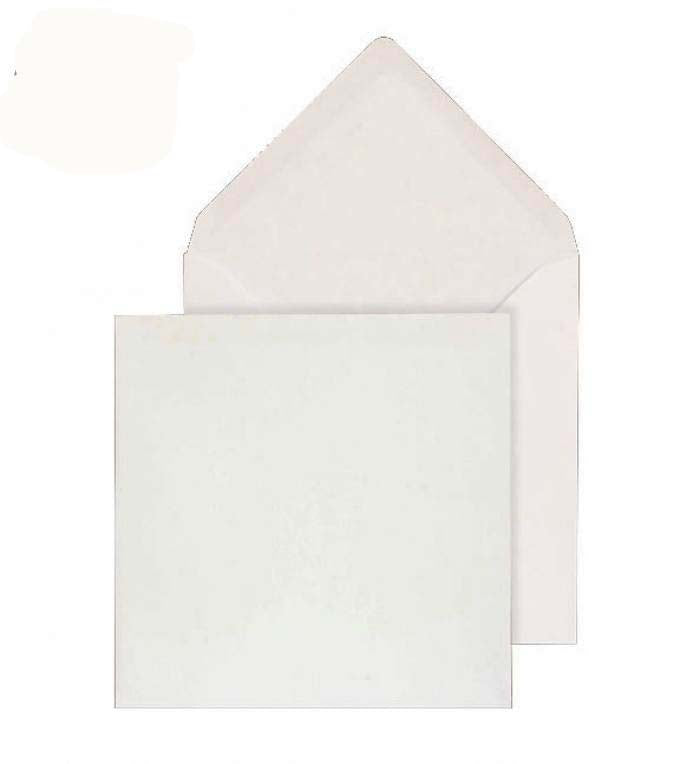 130 x 130mm  Brocken White Gummed Diamond flap 6832