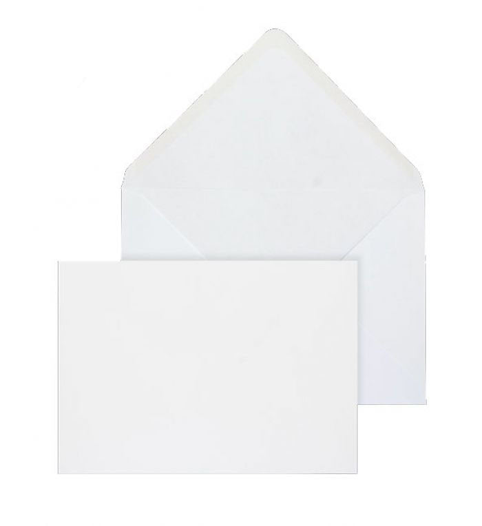 152 x 216mm  Brocken White Gummed Diamond flap 6842