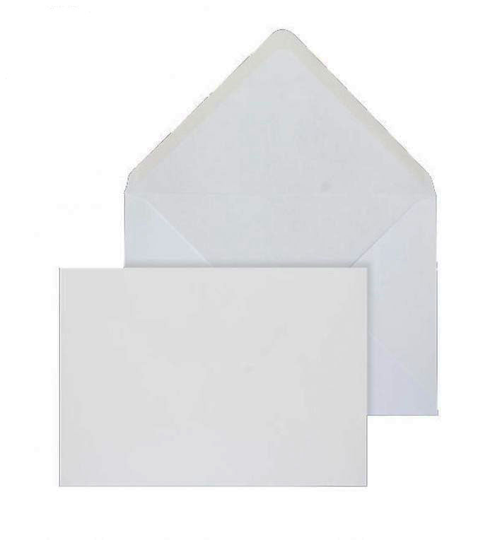 159 x 210mm  Brocken White Gummed Diamond flap 6846