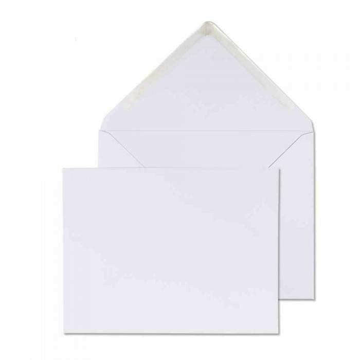 184 x 235mm  Brocken White Gummed Diamond flap 6851