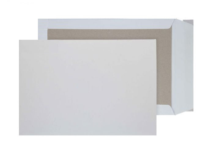 238 x 165mm C5 Sentinel White Peel & Seal Board Back 9283