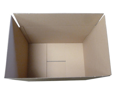 580 x 380mm  Carrier boxes Brown 0 0 BX05