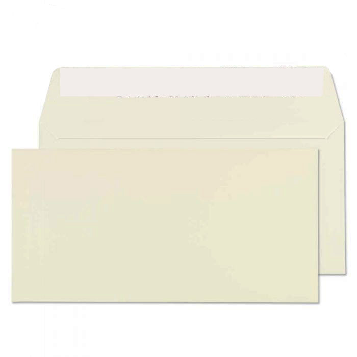 110 x 220mm DL Conqueror Oyster Wove Peel & Seal Wallet C01004