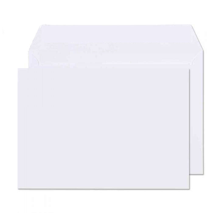 162 x 229mm C5 Conqueror Brilliant White Wove Peel & Seal Wallet C01541