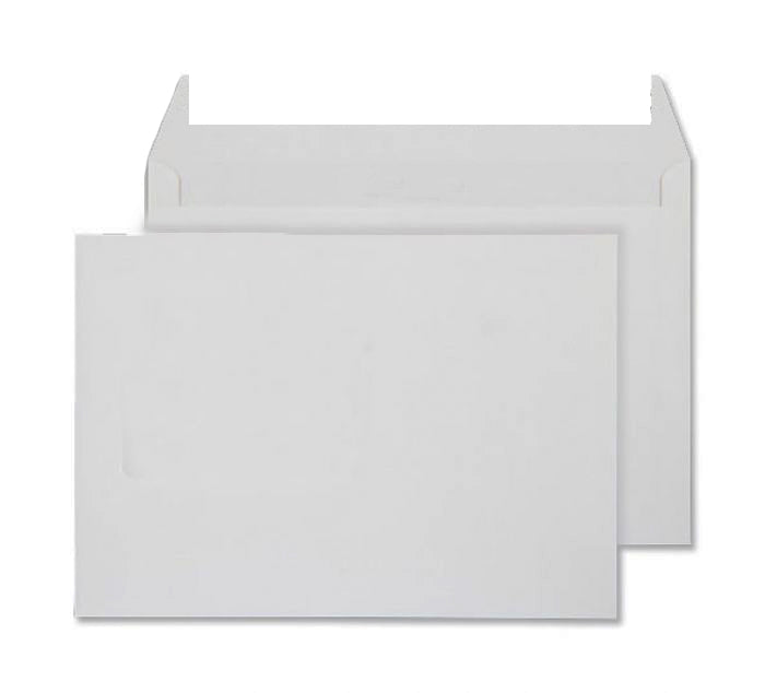 162 x 229mm C5 Conqueror High White Laid Peel & Seal Wallet C01556