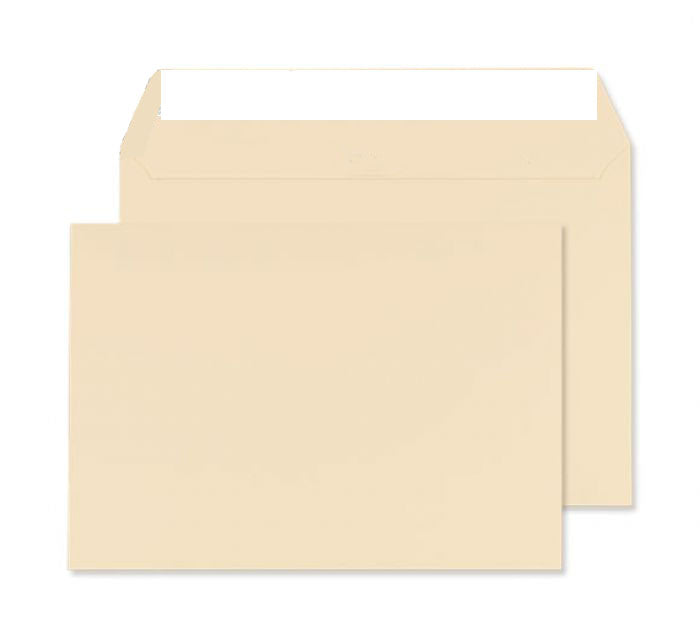 162 x 229mm C5 Robson Cream Wove Peel & Seal Wallet C3219