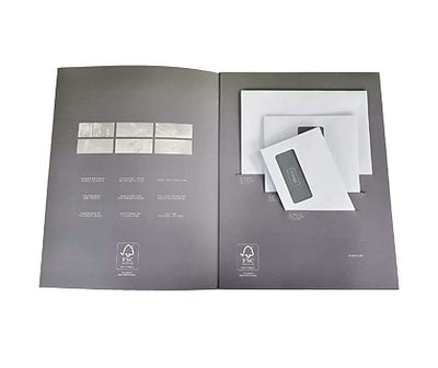 110 x 220mm DL PUR120 White Window Peel & Seal Wallet P3224