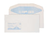 114 x 229mm  Tryfan Recycled White Window Gummed Wallet R3706