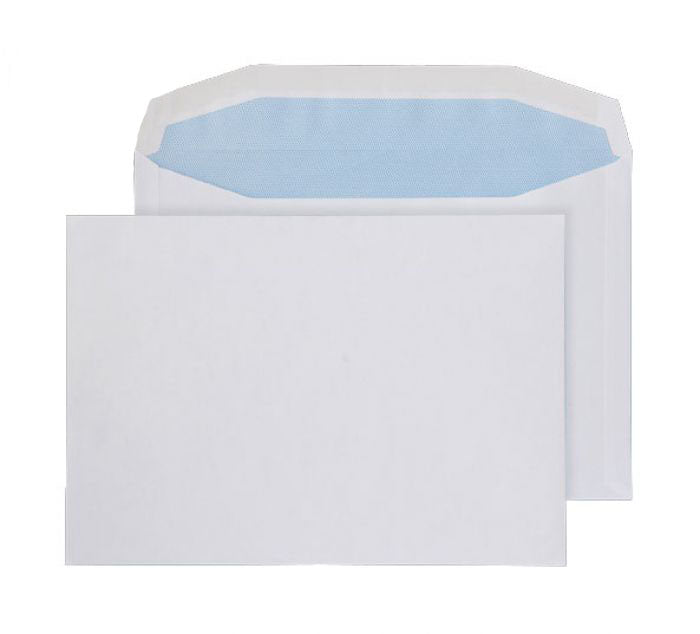 155 x 220mm  Tryfan Recycled White Gummed Wallet [Pack 500] R3715