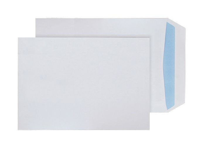 229 x 162mm C5 Tryfan Recycled White Self Seal Pocket [R4841