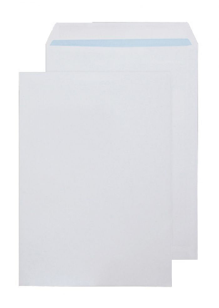324 x 229mm C4 Tryfan Recycled White Self Seal Pocket R4859