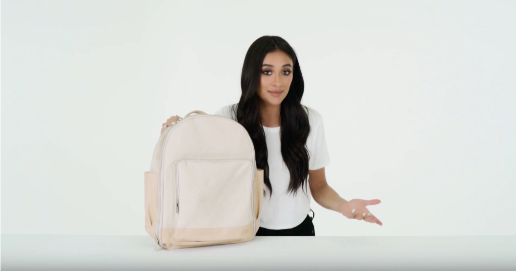 The Backpack in Beige