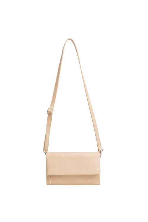 The Crossbody Wallet in Beige