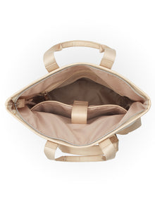 The Convertible Backpack in Beige