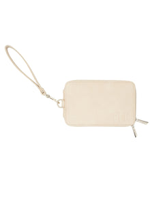 The Travel Wallet in Beige