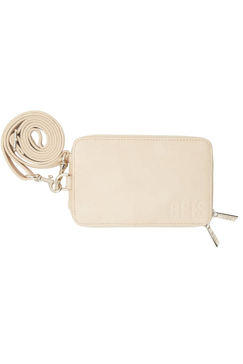 Travel Wallet in Beige