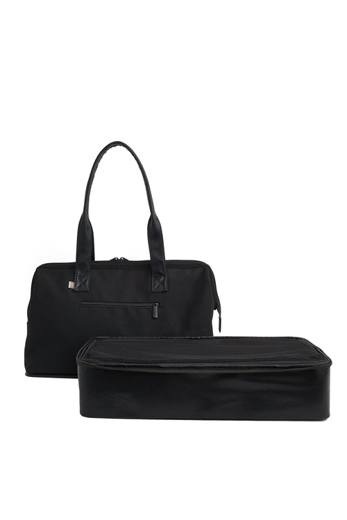 The Convertible Weekender in Black