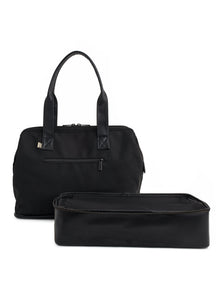 The Convertible Mini Weekender in Black