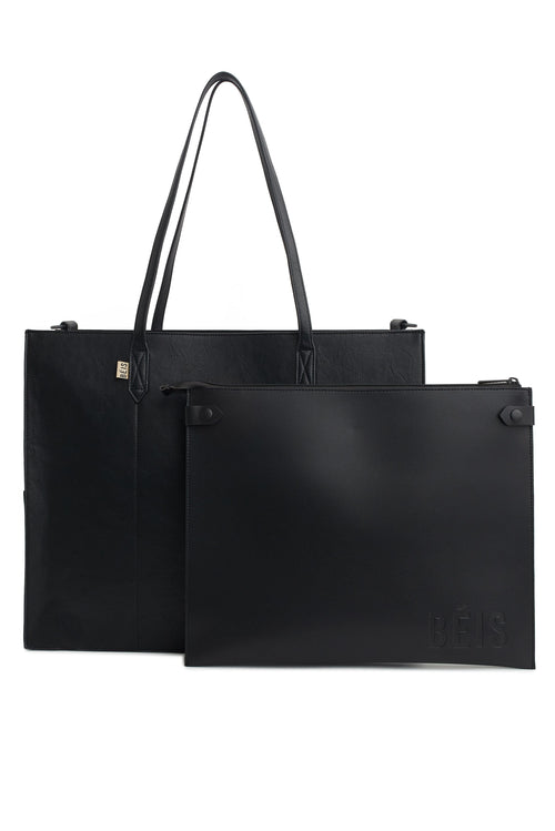 The Work Tote in Black