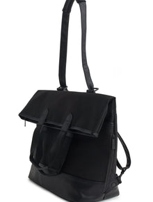 The Convertible Backpack in Black