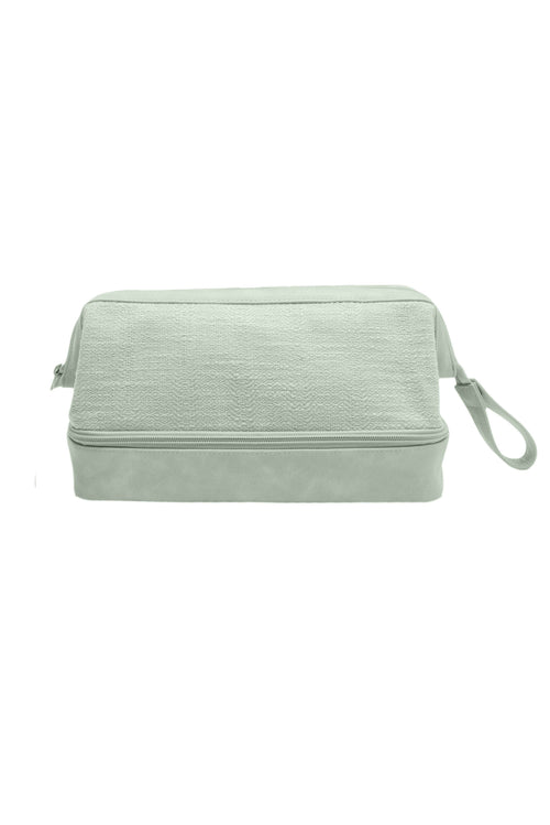 The Dopp Kit in Matcha Green