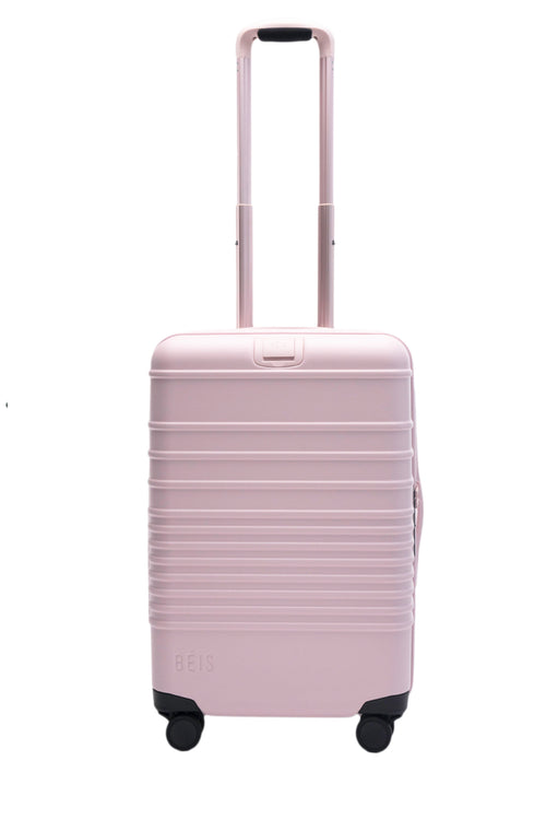 The Carry-On Roller in Sakura Pink