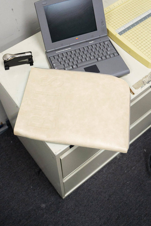 The Laptop Sleeve in Beige