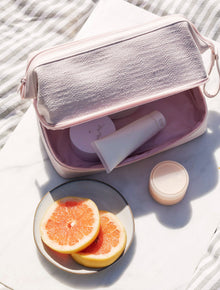 The Dopp Kit in Sakura Pink