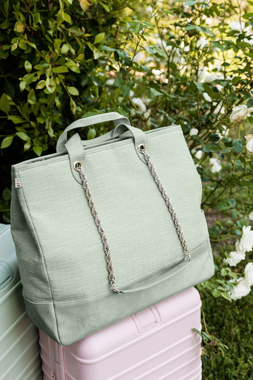 The Everyday Tote in Matcha Green