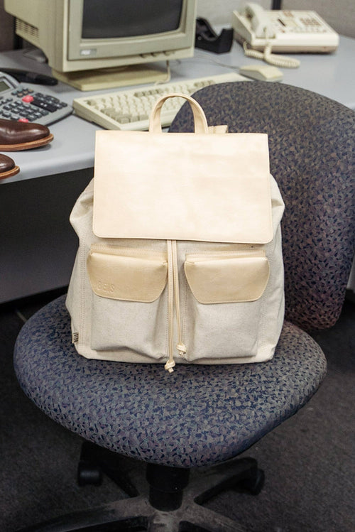 The Rucksack in Beige