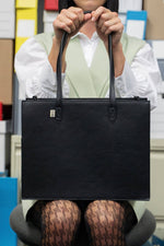 The Mini Work Tote in Black