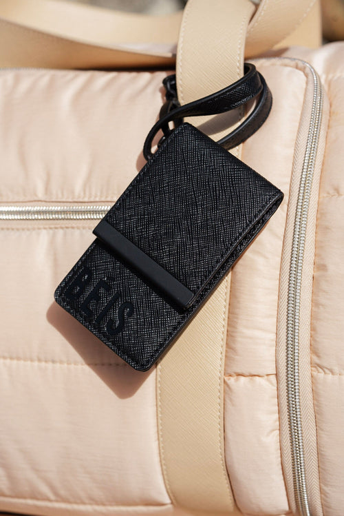 The ID Wristlet in Black