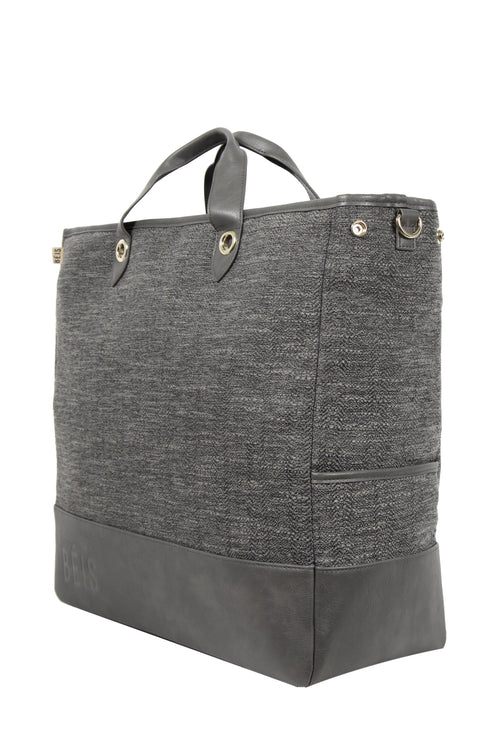 The Everyday Tote in Charcoal