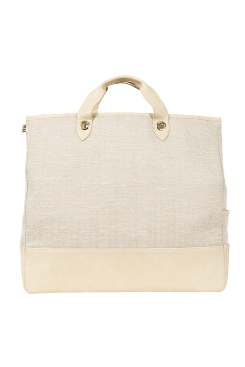 The Everyday Tote in Beige