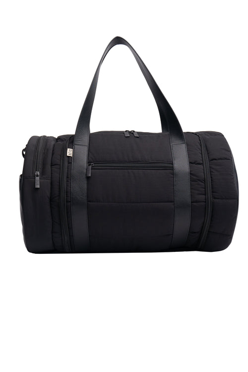 The Puffer Duffle in Black