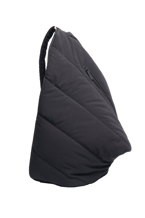 The Puffer Sling in Black
