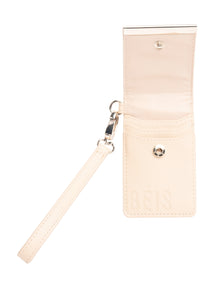 The ID Wristlet in Beige