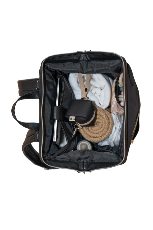 2 Colors Backpack Style Diaper Bag with Accessories