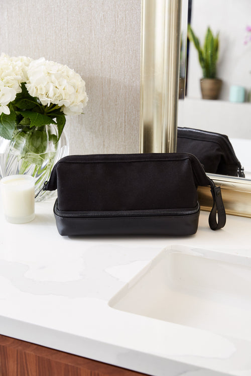 The Dopp Kit in Black