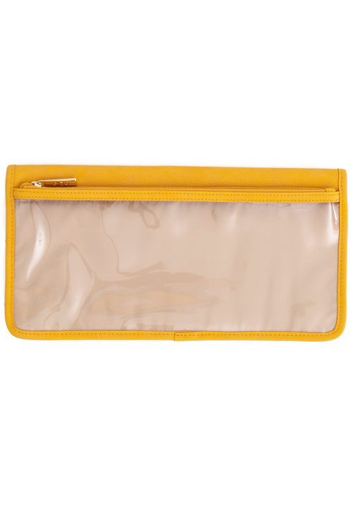 The Seatback Organizer in Yellow