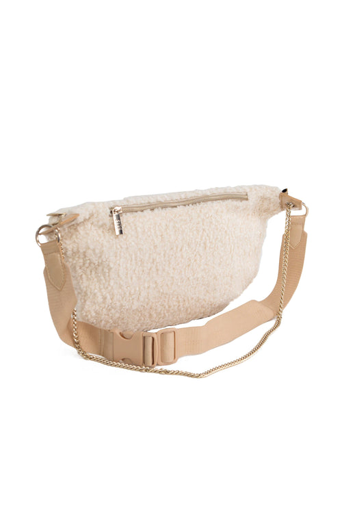 The Convertible Bum Bag in Beige