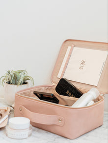 The Cosmetic Case in Pink